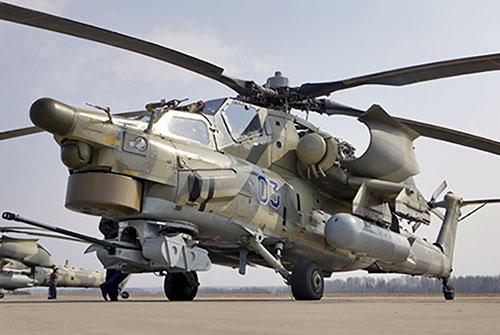 Elicottero Havoc : Siria mosca schiera la flotta elicotteri d attacco