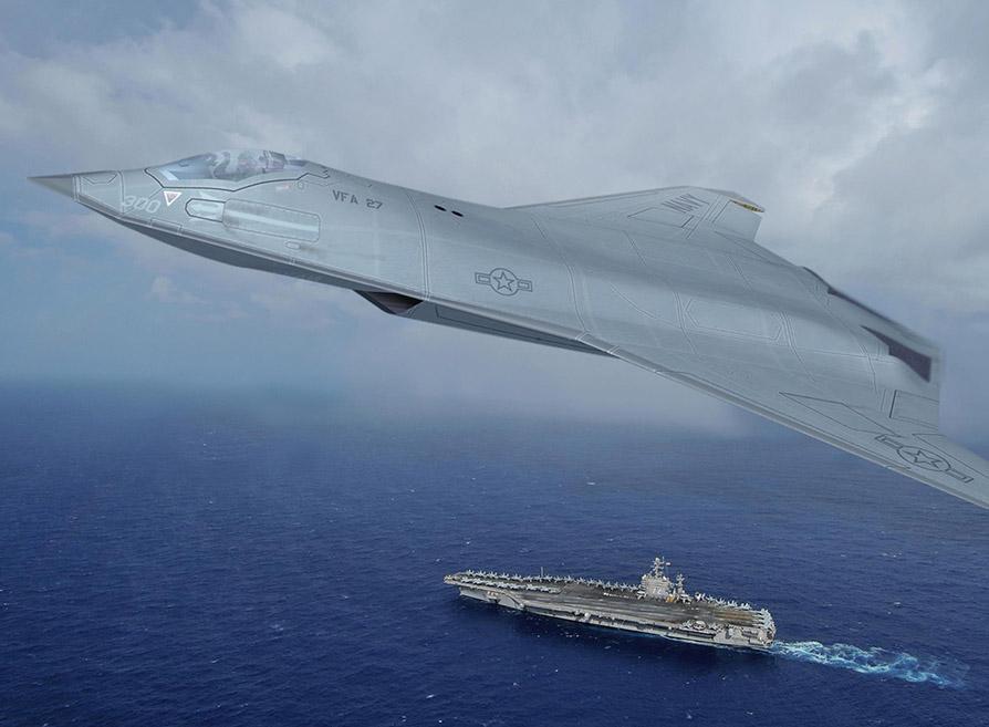 Aerei Da Caccia Di Ultima Generazione : Usaf e navy iniziano a sviluppare il caccia di generazione