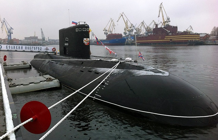 Russia, Flotta del Mar Nero: in servizio il Veliky Novgorod, quinto sottomarino classe Varshavyanka - Difesa Online (Comunicati Stampa)