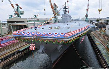 Izumo la nuova ammiraglia della flotta giapponese - Nuova portaerei ...