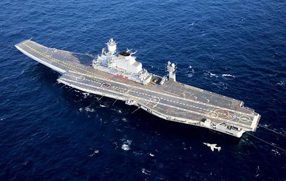 India appalto 15 miliardi di dollari per la nuova - Nuova portaerei ...