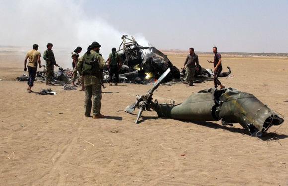 Siria, abbattuto un elicottero russo: morti 5 militari