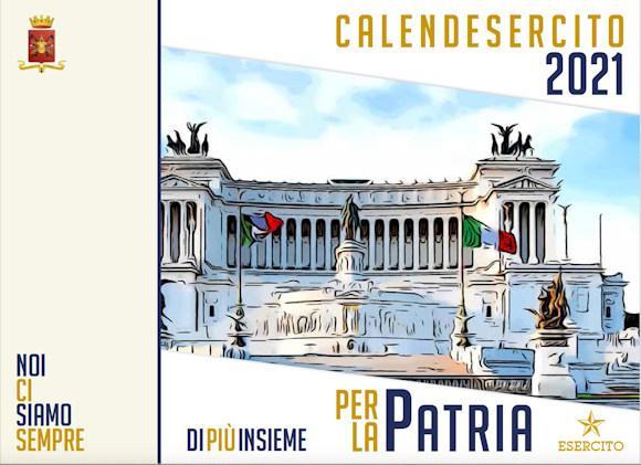 """Calendario 2021: l'Esercito """"Per la Patria""""   Difesa Online"""
