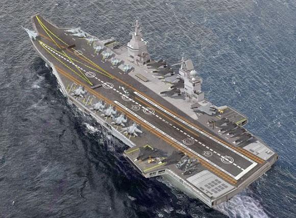 Russia offerta all 39 india la portaerei classe shtorm per - Nuova portaerei ...