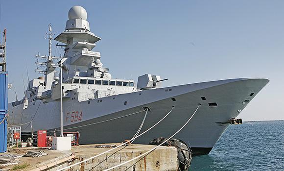 Fincantieri: consegnata alla Marina la quinta fregata del programma Fremm